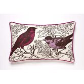 Perch Pillow in Violet