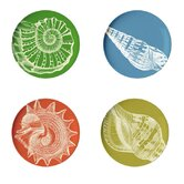 Sea Life Coaster Dish (Set of 4)