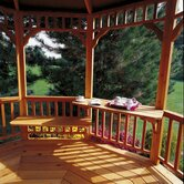 Combination Cedar Bench