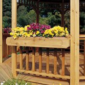 Gazebo Flower Box