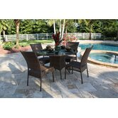 Grenada Patio 5 Piece Dining Set