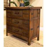 Polynesian 3 Drawer Dresser