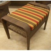 Grenada Patio Ottoman Cushion