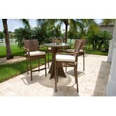 Grenada Patio Barstool with Arms