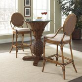 Oyster Bay 3 Piece Pub Set