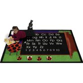 Educational Animal Lady Bug Kids Rug