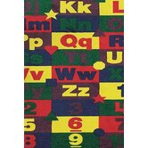 Educational ABC123'S Kids Rug