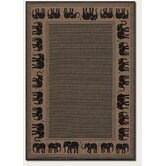 Recife Elephant Novelty Rug