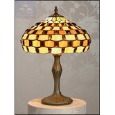 Jewelled Tiffany Table Lamp