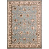 Arabesque Coventry Blue Smoke/Ivory Rug
