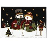 Home for the Holidays Starlight Stroll Novelty Rug