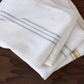 Striped Muslin Burp Cloth (Set of 4)