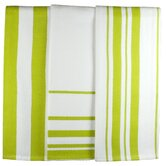 MUincotton Dish Towel in Kiwi Stripe