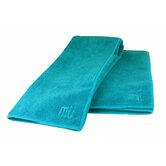 MUmodern Two Towels and One Cloth in Sea Blue