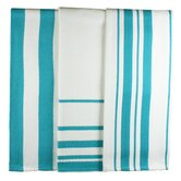 MUincotton Dish Towel in Pacific Stripe (Set of 3)