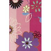 4-Ever Young Floral Kids Rug