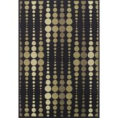 Carlisle Black Geometric Rug