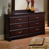 City Crossing 6 Drawer Dresser
