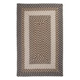 Tiburon Misted Gray Braided Rug