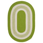Crescent Bright Green Rug