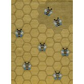 Lil Mo Whimsy Honey Bee Kids Rug