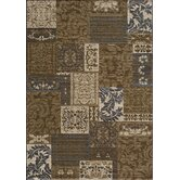 Dream Damask Brown Rug