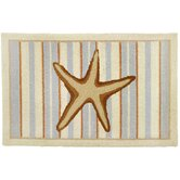 Starfish With Stripes-Neutrals Rug