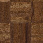 Urethane Parquet 12&quot; x 12&quot; x 7/16&quot; Solid Oak in Windsor