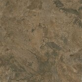 Alterna Mesa Stone 16&quot; x 16&quot; Vinyl Tile in Chocolate