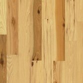 "American Treasures™ Wide Plank 4"" Solid Hickory in Country Natural"