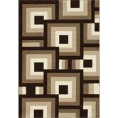 Oasis Blocks Brown/Beige Rug