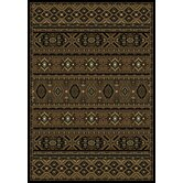 Radiance Brown Aztec Mosaic Rug