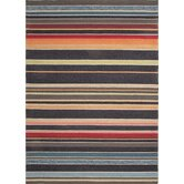 Colours I-O Blue Stripe Rug