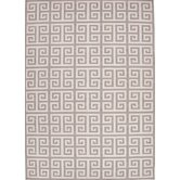 Urban Bungalow Black/Gray Geometric Rug