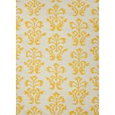 Urban Bungalow Gold/Yellow Floral Rug