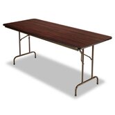 72&quot; Folding Table in Walnut