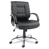Ravino Big &amp; Tall Series Leather Office Chair with Arms