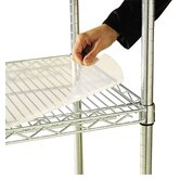 "48"" W x 18"" D Shelf Liners for Wire Shelving in Clear Plastic"