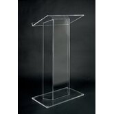 Clear Acrylic Lectern