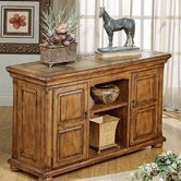 St. Augustine Two Door Storage Console Table