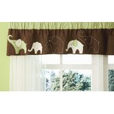 Green Elephant Valance