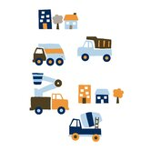 Street Fleet Wall Decals