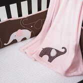 Pink Elephant Fitted Sheet