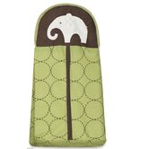 Green Elephant Diaper Stacker