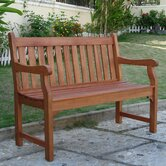 Outdoor Furniture Wood Garden Bench