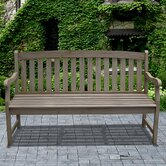 Renaissance Wood Garden Bench