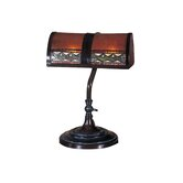 Egyptian Desk Lamp in Mica Bronze