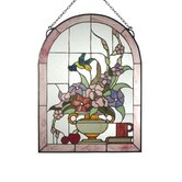Tiffany Hummingbird Sun Catchers and Window Panel
