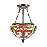 Baroque 2 Light Semi-Flush Mount