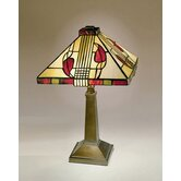 Miniature Henderson  Table Lamp in Antique Bronze